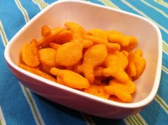 Gluten free, primal Goldfish style crackers