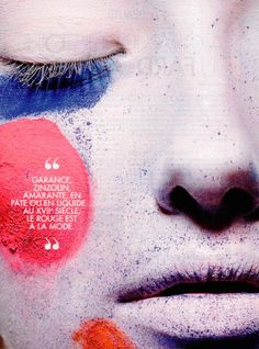 Elle France, September 2015 [3 of 5] www.lisaeldridge.com #LisaEldridge #makeup #beauty #history #facepaintbook #Elle