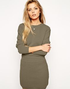 ASOS Jumper Dress With Elasticated Waistband #winter2015 #musthave #2015trends