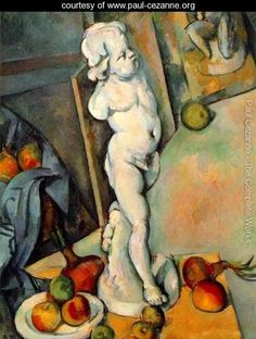 Paul Cezanne, Still Life With Plaster Cupid