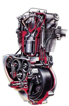 Triumph T110 engine                                                                                                                                                                                 More