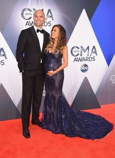 Pin for Later: See All the Stars on the CMA Awards Red Carpet! Mike Caussin and Jana Kramer