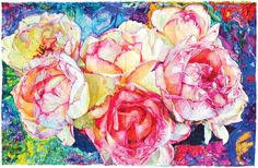 Joseph Raffael, Grace  I love his use of color.
