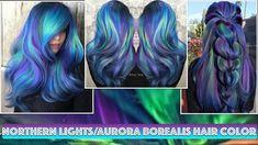 Northern Lights/Aurora Borealis Hair Color