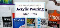 Acrylic Pouring Medium – TOP Brands in 2020 Age Spot Remedies, Acrylic Pouring Art, Smart Art, Liquitex, Pour Painting, Art Techniques, Art Supplies, Top, Paint