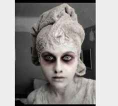 Mikayla Runciman- I think the ghost of Christmas future should look like this- dark eyes and pale skin