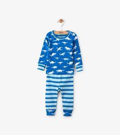 417657b1113 Hatley Dinosaur Menagerie Organic Cotton Baby Pajama Set - 18-24M Pajama  Set