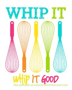 Kitchen Printable by Love From The Oven
