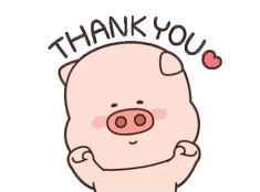 Thanks Gif, Thanks Card, Animated Emoticons, Piggly Wiggly, Gifs, Cute Piggies, Cute Images, Cute Characters, Cute Gif