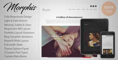 Download and review of Morphis - Responsive WordPress Theme, one of the best Themeforest Creatives themes {Download & review at Review and download at} { -> }http://best-wordpress-theme.net/morphis-responsive-download-review/