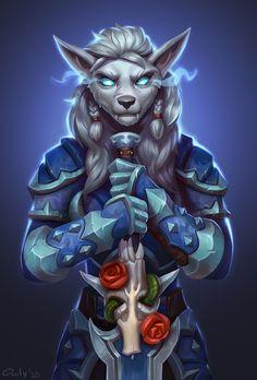 Fantasy Character Design, Character Inspiration, Character Art, World Of Warcraft Characters, Fantasy Characters, Fantasy Warrior, Fantasy Girl, Female Werewolves, Warframe Art