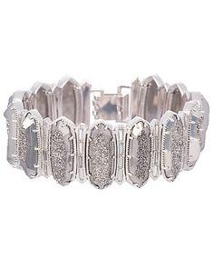 Chloe Link Bracelet in Platinum Drusy - Kendra Scott Jewelry. Coming October 15!