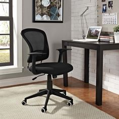 POISE OFFICE CHAIR IN GRAY