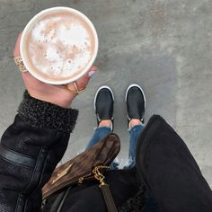 Blogger Sarah Lindner of The House of Sequins wearing payless ARIEL DOUBLE-ZIP SLIP-ON sneakers in black