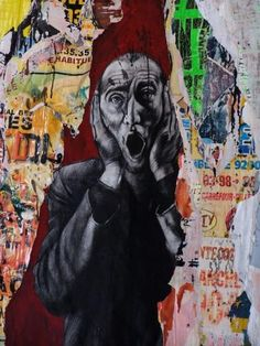 Ernest Pignon-Ernest Street Art Love, Best Street Art, Street Art Graffiti, Banksy, Image Du Christ, Art Graphique, Mural Art, Street Artists, Tag Art