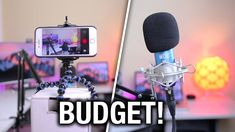 People are always asking me what equipment I use to make my videos. In this video, I wanted to show you guys some great budget equipment that would be perfec. Youtube Setup, Youtube Hacks, You Youtube, Start Youtube Channel, Making Youtube Videos, Studio Room, Studio Setup, Photography Jobs, Photography Lighting
