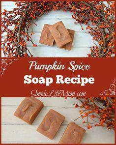 Pumpkin Spice Soap Recipe - Simple Life Mom