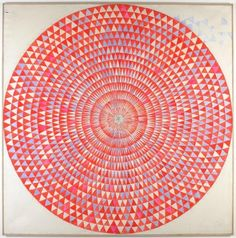 Manfred Kuttner, Kreis Mo - 1963  Things that Quicken the Heart: Circles - Mandalas - Radial Symmetry VI