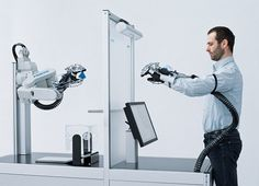 Festo, Production Of The Future - New Operating Concepts Between People And Machines, ExoHand, Futuristic Technology