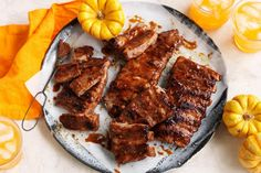Skeleton ribs - Planning a Halloween barbecue? These sweet, sticky ribs are perfect for entertaining.