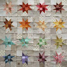 PatchworkPottery: Apron, Tea & Stars
