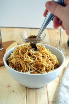 Spaghetti with Lemon and Herbs