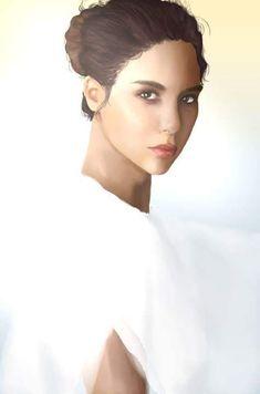 Model: Nadia Hilker Nadia Hilker, Digital Art, Model, Scale Model, Models, Template, Pattern, Mockup