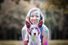 Border Collie, Carnival, Princess Zelda, Dogs, Face, Girls, Youtube, Painting, Fictional Characters