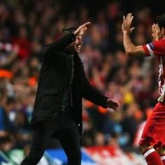 Diego Simeone - Atletico Madrid - Love the man...and the team - not quite as much as the Blues though :-) Embedded image permalink