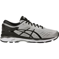 check out 701bf 912d0 Asics® Men s Gel Kayano 24 Running Shoes (Silver Black Mid Grey, Size 12) -  Men s Running Shoes at Academy Sports