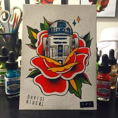 star wars tattoo flash | Tumblr