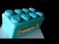 LEGO cake - TUTORIAL - YouTube