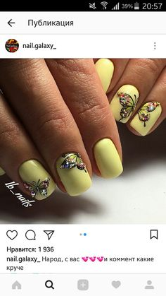 Ideas For Nails Art Yellow Shades Acrylic Nails Yellow, Classy Acrylic Nails, Yellow Nail Polish, Fall Acrylic Nails, Yellow Nails, Classy Nails, Yellow Glitter, Fancy Nails, Trendy Nails