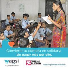 ¿Sabes que puedes colaborar con @Sonrisasdbombay solidarizando tu compra online a coste 0? http://Wapsi.org/SonrisasdeBombay… pic.twitter.com/LVy6PeBC9y