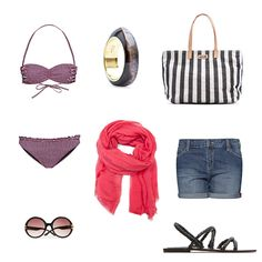 nice look to go to the beach!! :D