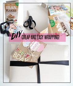 ✄ EASY AND CHEAP WRAPPING #DIY #wrapping