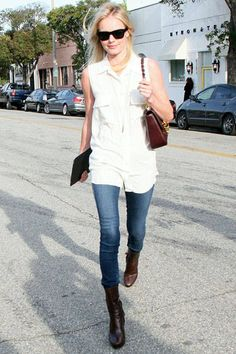 Jean Queens - Get inspired by these celebrity denim trends.