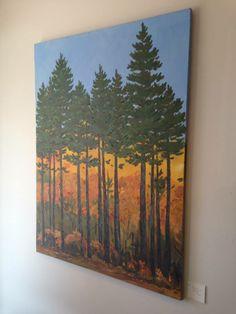"""""""Roadside Trees"""" by Nancy Desmond"""
