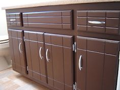 Redo kitchen cabinets without sanding!