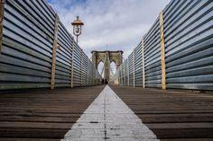 Brooklyn Bridge - Low Perspective
