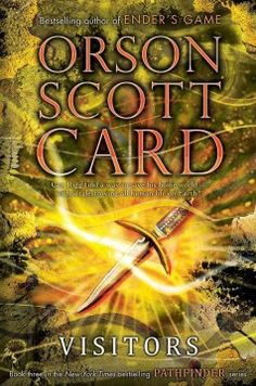 Visitors by Orson Scott Card ---- Rigg's journey comes to an epic and explosive conclusion as everything that has been building up finally comes to pass, and Rigg is forced to put his powers to the test in order to save his world and end the war once and for all. (Feb)