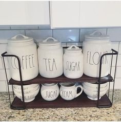 Home Decoration - Rae Dunn Display Ideas To Make Beautiful Decor In Your Home 21044 - Wallpaper Pinme Cute Dorm Rooms, Cool Rooms, Farmhouse Side Table, Rustic Farmhouse, Boho Home, Living Room Designs, Diy Home Decor, Room Decor, Sweet Home