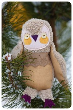 Stuffed owl by wassupbrothers on etsy