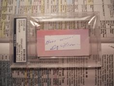 DICKIE MOORE- OUR GANG ACTOR-- AUTOGRAPHED SIGNED CUT--PSA/DNA