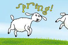 """Gratis e-card: """"Spring!"""""""