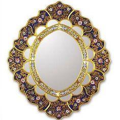 Golden Garden Mirror