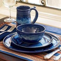 Denim blue cottage