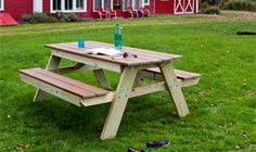 E Renshaw 's picnic table | wood projects