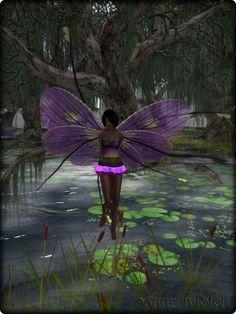 Faeline Fairy Wings - Sayuri (violet)