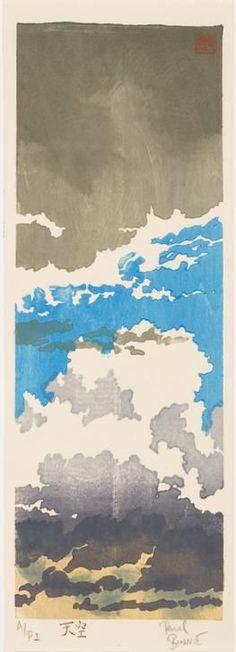 topcat77: Paul Binnie Tenku (Vast Heavens), 2000 woodblock print